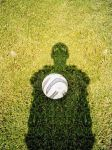 Self-Portrait With Football by Galotta
