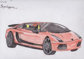 Lamborghini Gallardo SL by red-umbreon-of-light