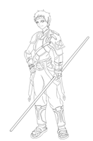 Sieg Lineart by rithgroove