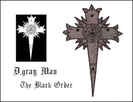 PATCH -D.gray Man- Black Order by LunaeLunetta