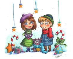 Christmas 2012 by Anne-O