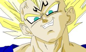 Majin Vegeta by Batman316