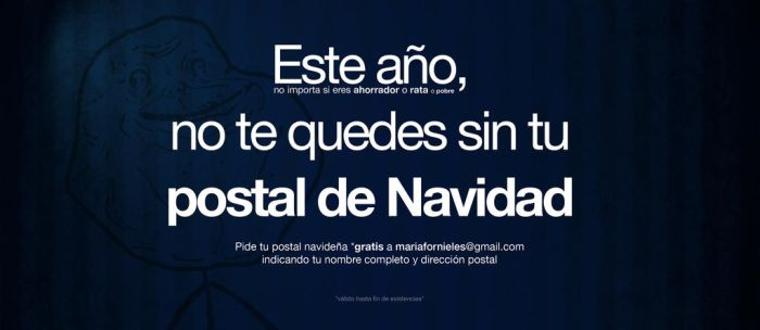 No te quedes sin tu christmas card by UDeeN