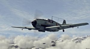 Bf 109 by OttoakaMedicineman