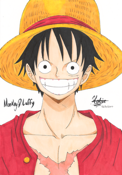 Monkey.D.Luffy by HikariUtsumi