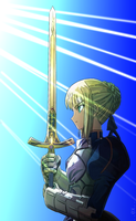 Saber Full Color by exe-q-tor