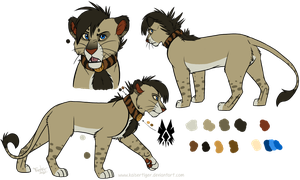 Lion design -commish- by KaiserTiger