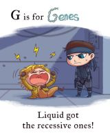 MGS - G is for Genes by FerioWind