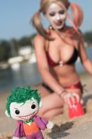 Sneak Preview - Harley Quinn Beach shoot by RonGejon
