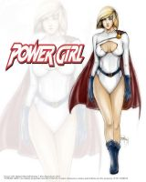 Power Girl by kimgobartolome
