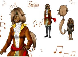 Saileen ref sheet new by PatrickleMorse