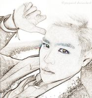 Top Moster Eyes by pen-point