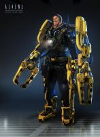 Powerloader by 152mm