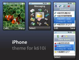 iPhone Theme for SE K610i by merrin
