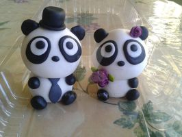 Panda Toppers by PnJLover