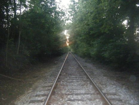 The End of the Tracks by XXBlackXFoxXX