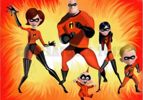 The Incredibles by GiuliaIulia