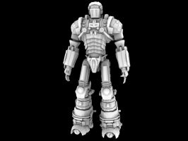 Mecha-Soldier by Donvius