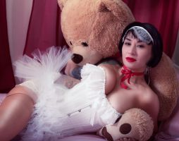 Teddy Bears and Bows by photonutz