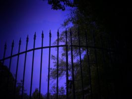 cemetary gates by HippieVan57