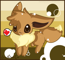 I BE AN EEVEE NICE TO MEET CHU by SweetBeriiChu