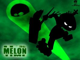 Melonhead Wallpaper II by TheEdMinistrator765