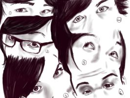 Eyes 2 by adell14