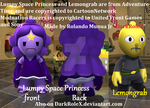 Lumpy Space Princess and Lemongrab mods by DarkRoleX