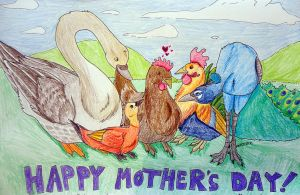 Mother's Day Card by Perocore