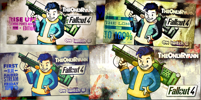 Fallout 4 Twitch Advertising by IMAGINeye