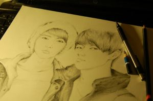 Hunhan WIP by mangaluvr979