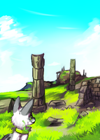 Ruins by Pand-ASS