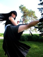 Tifa Kick by lilburi4ever
