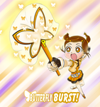 PC Butterfly burst by lBiancal