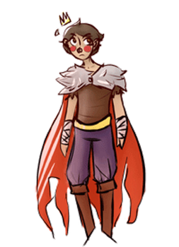 Itty Bitty King Michael by renegadeartist413