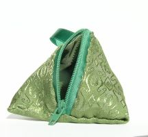 Little Green Pyramid Bag by Arleen