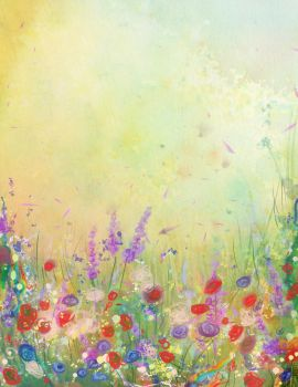 Flower Meadow by Tiger-tyger