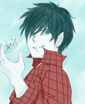 Marshall lee :D by anis96