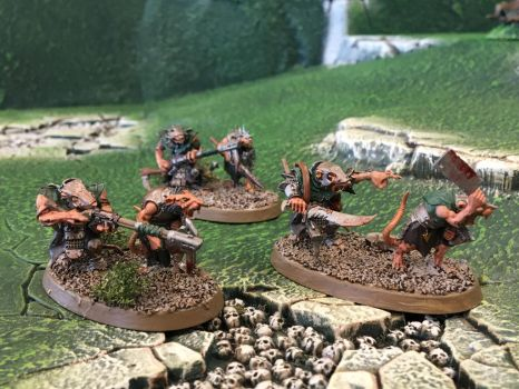 Clan Cherno - Skaven Jezzails by Quiet-Lamp