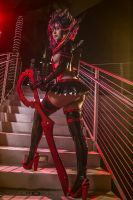 Ryuko Matoi Cosplay: Step Off Or Die by Khainsaw