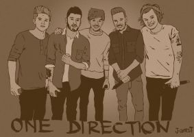 ONE DIRECTION vintage :) by J-amesT