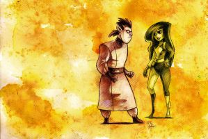 Drakken and Shego by HNAutumn