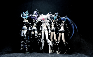 Black Rock Shooter Family by Solastyre