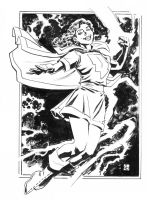 Mary Marvel Sketch by deankotz