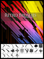 RETRO BRUSHES by SET07
