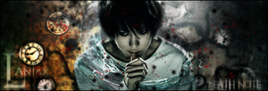 Death Note - L - Signature by MrBasFish