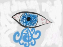DSi Blue Eye by FreezingDarkFantasy