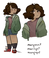 maryann wip by SkyTheSharkicorn