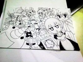 Fan Art : Celestial Spirits by inori1211