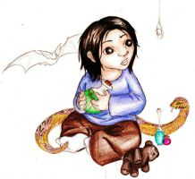 Cute 'Ickle Baby Snape...AW by LoveLydetective